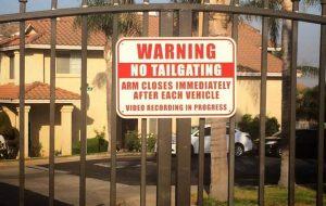 custom aluminum safety sign