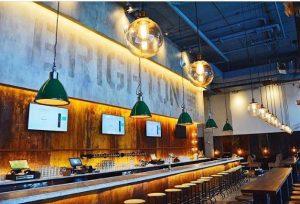 Bar Nightclub indoor signs