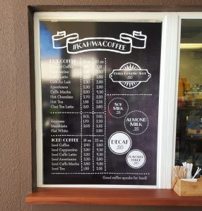 custom menu boards